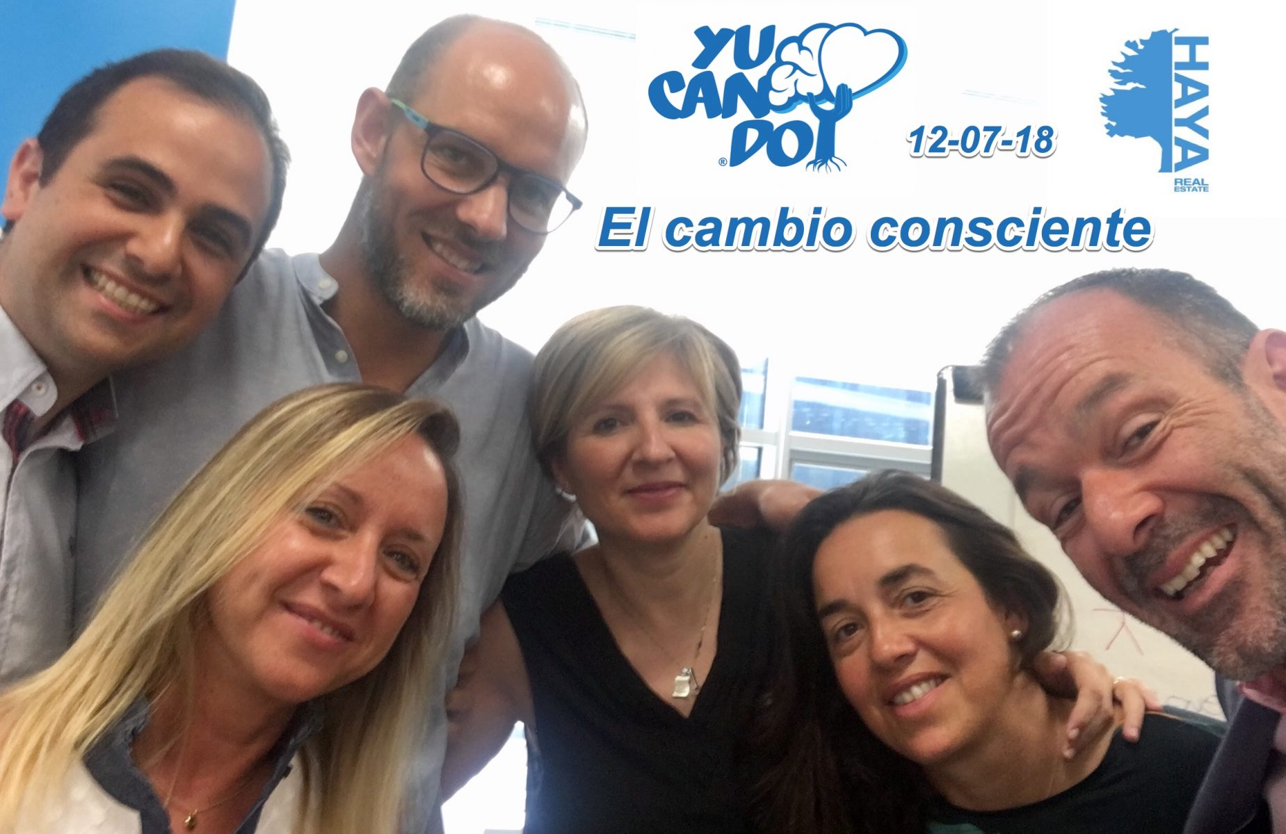 Taller introductorio de Awareness Yucando y productividad para directivos de Haya Real State en Madrid